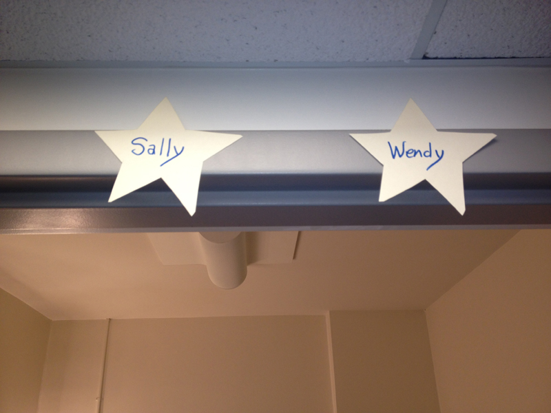Stars over the Dressing Rooms